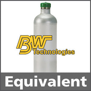 BW Technologies CG2-C-2-34 Chlorine Calibration Gas - 2 ppm (Cl2)