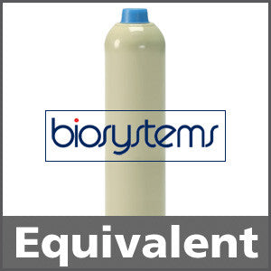 Biosystems 54-9068E Pentane Equivalent Calibration Gas - 50% LEL (C5H12)