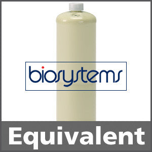 Biosystems 54-9071E Calibration Gas: 50% LEL Pentane, 20.9% Oxygen, 50 ppm Carbon Monoxide, Balance Air