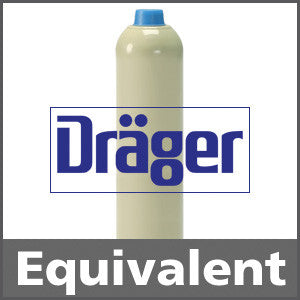 Draeger 4557019 Methane 50% LEL Calibration Gas - 2.5% vol. (CH4)