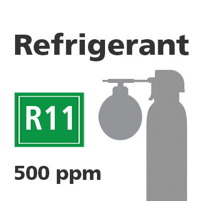Refrigerant R11 Bump Test Gas - 500 PPM