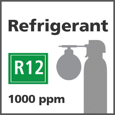 Refrigerant R12 Bump Test Gas - 1000 PPM