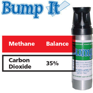 Gasco Multi-Gas Bump-It 399-35: 35% Carbon Dioxide, Balance Methane