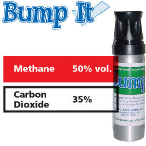 Gasco Multi-Gas Bump-It 399: 50% vol. Methane, 35% Carbon Dioxide, Balance Nitrogen
