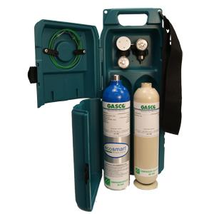 Hard Sided Carrying Case - Holds 2 Calibration Gas Cylinders (58L / 105L)