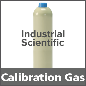 Industrial Scientific 1810-2996 Hydrogen Equivalent Calibration Gas - 500 ppm (H2)