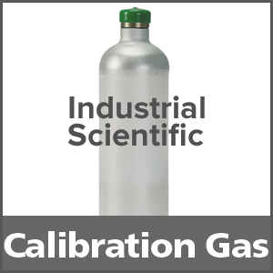 Industrial Scientific 1810-5593 Ammonia Equivalent Calibration Gas - 25 ppm (NH3) 34L