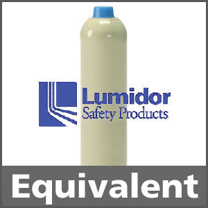 Lumidor GAS124 Hexane 50% LEL Calibration Gas - 0.55% vol. (C6H14)