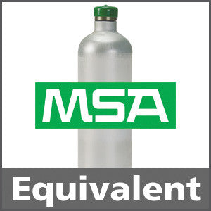 MSA 711078 Ammonia Calibration Gas - 25 ppm (NH3)
