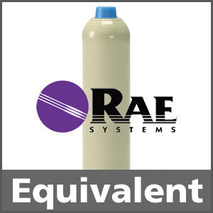 RAE Systems 600-0002-001 Isobutylene Calibration Gas - 100 ppm (C4H8)