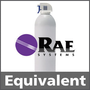 RAE Systems 600-0159-000 Hydrogen Sulfide Bump Test Gas - 25 ppm (H2S)