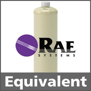 RAE Systems 600-0001-000 Isobutylene Calibration Gas - 50 ppm (C4H8)