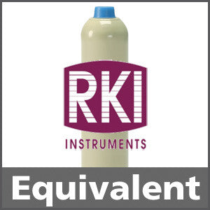 RKI Instruments 81-0001RK-23 Hydrogen 30% LEL Calibration Gas - 1.2% vol. (H2)
