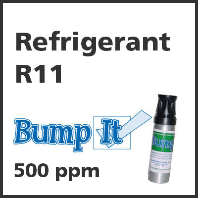Refrigerant R11 Bump-It Gas - 500 PPM