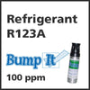 Refrigerant R123A Bump-It Gas - 100 PPM