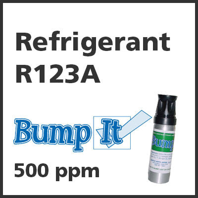 Refrigerant R123A Bump-It Gas - 500 PPM