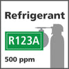 Refrigerant R123A Bump Test Gas - 500 PPM