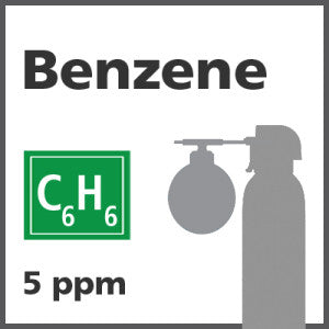 Benzene Bump Test Gas - 5 PPM (C6H6)