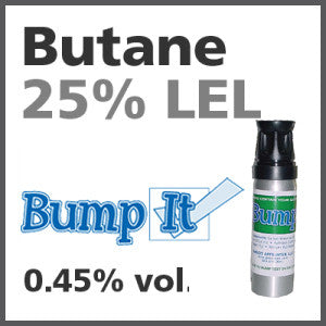 Butane 25% LEL Bump-It Gas - 0.45% vol. (C4H10)
