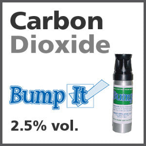Carbon Dioxide Bump-It Gas - 2.5% vol. (CO2)