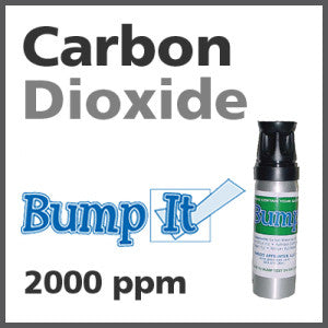 Carbon Dioxide Bump-It Gas - 2000 PPM (CO2)