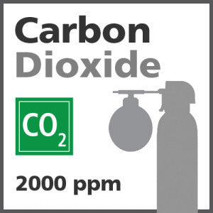 Carbon Dioxide Bump Test Gas - 2000 PPM (CO2)