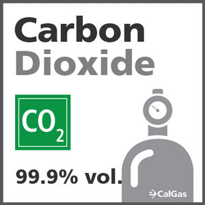 Carbon Dioxide Calibration Gas - 99.999% vol. (CO2)