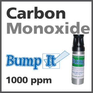 Carbon Monoxide Bump-It Gas - 1000 PPM (CO)