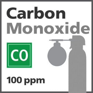 Carbon Monoxide Bump Test Gas - 100 PPM (CO)