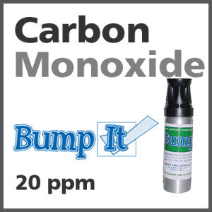 Carbon Monoxide Bump-It Gas - 20 PPM (CO)