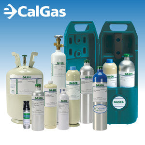 Draeger 4594945 Calibration Gas: 50% LEL Methane, 20.9% Oxygen, 100 ppm Carbon Monoxide, Balance Air