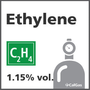 Ethylene Calibration Gas - 1.15% vol. (C2H4)