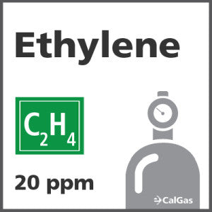 Ethylene Calibration Gas - 20 PPM (C2H4)