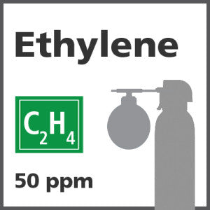 Ethylene Bump Test Gas - 50 PPM (C2H4)