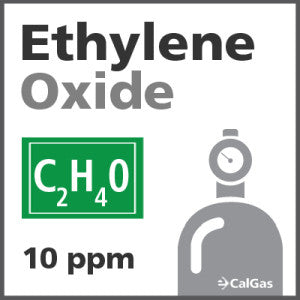 Ethylene Oxide Calibration Gas - 10 ppm (C2H4O)