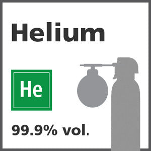 Helium Bump Test Gas - 99.999% vol. (He)