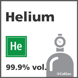 Helium Calibration Gas - 99.999% vol. (He)