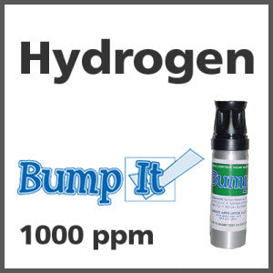 Hydrogen Bump-It Gas - 1000 PPM (H)