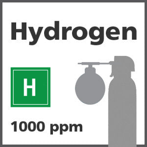 Hydrogen Bump Test Gas - 1000 PPM (H)
