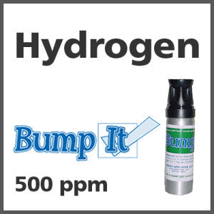 Hydrogen Bump-It Gas - 500 PPM (H)