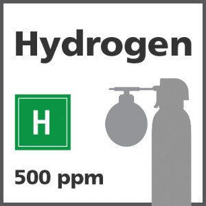 Hydrogen Bump Test Gas - 500 PPM (H)