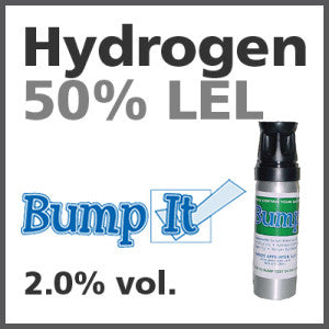 Hydrogen 50% LEL Bump-It Gas - 2.0% vol. (H)