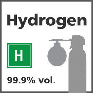 Hydrogen Bump Test Gas - 99.999% vol. (H)