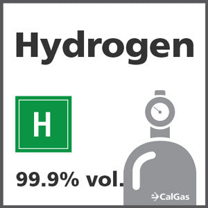 Hydrogen Calibration Gas - 99.999% vol. (H)