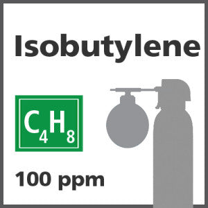 Isobutylene Bump Test Gas - 100 PPM (C4H8)
