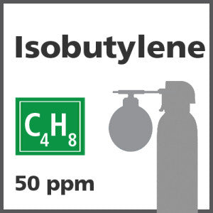 Isobutylene Bump Test Gas - 50 PPM (C4H8)