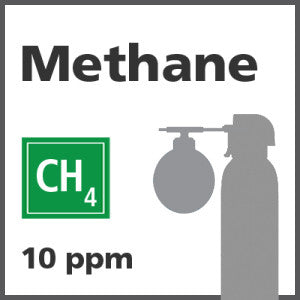 Methane Bump Test Gas - 10 PPM (CH4)