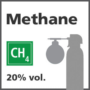 Methane 20% LEL Bump Test Gas - 1.0% vol. (CH4)
