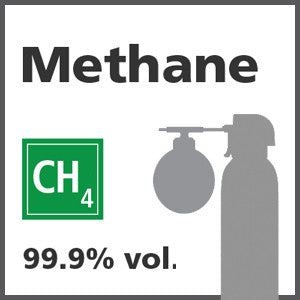 Methane Bump Test Gas - 99.999% vol. (CH4)