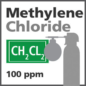 Methylene Chloride Bump Test Gas - 100 ppm (CH2CL2)